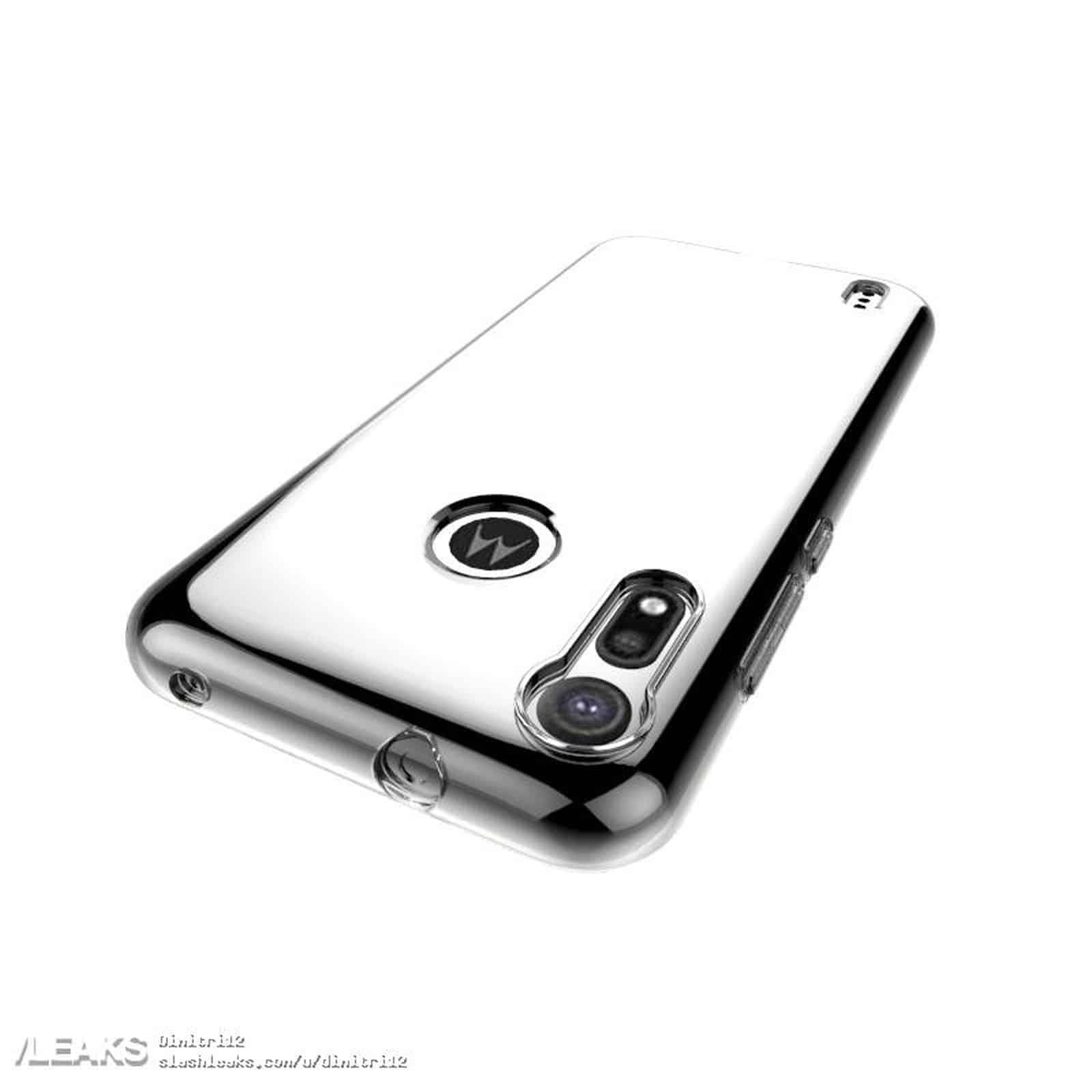 Moto P40 Play Leaked Case Render 3