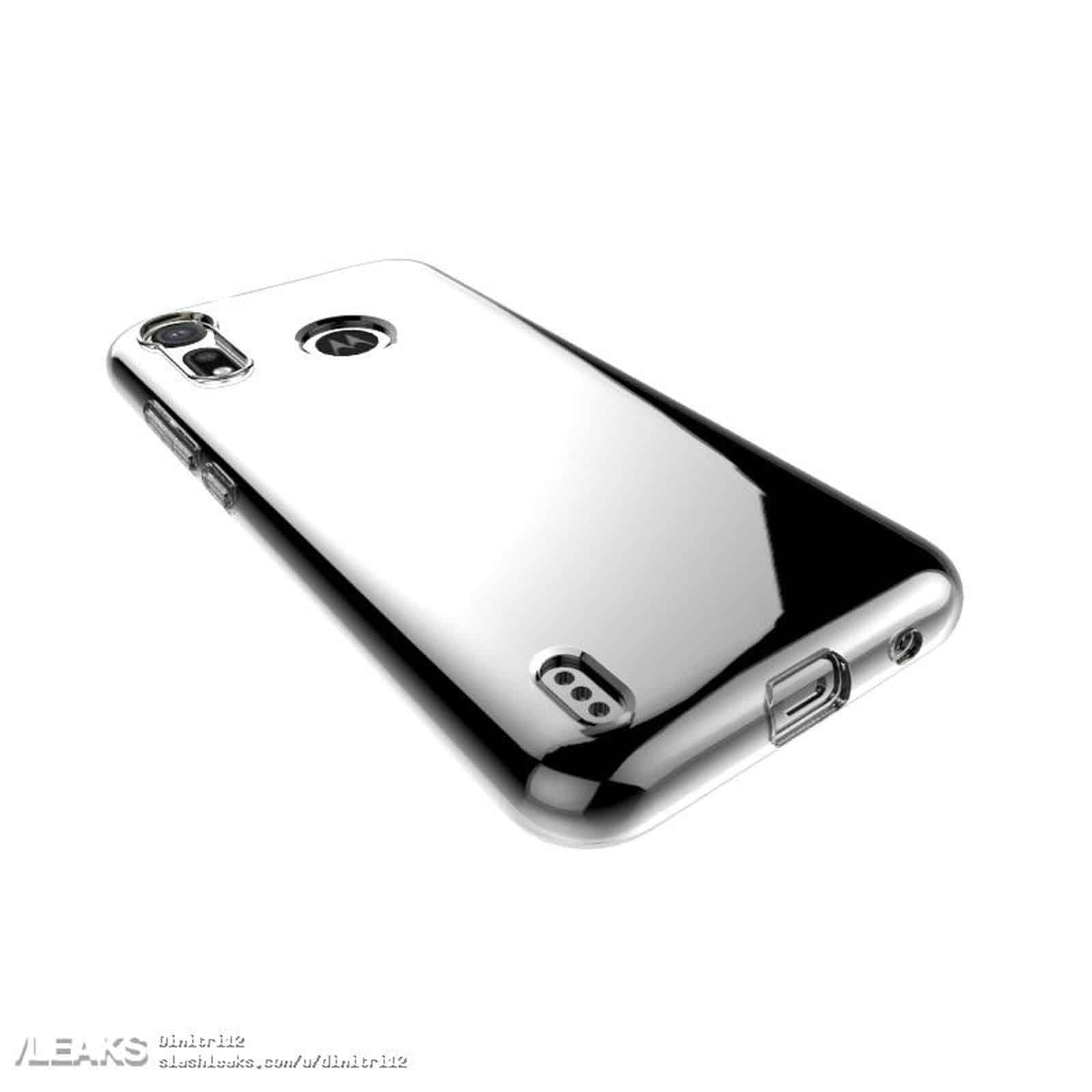 Moto P40 Play Leaked Case Render 4