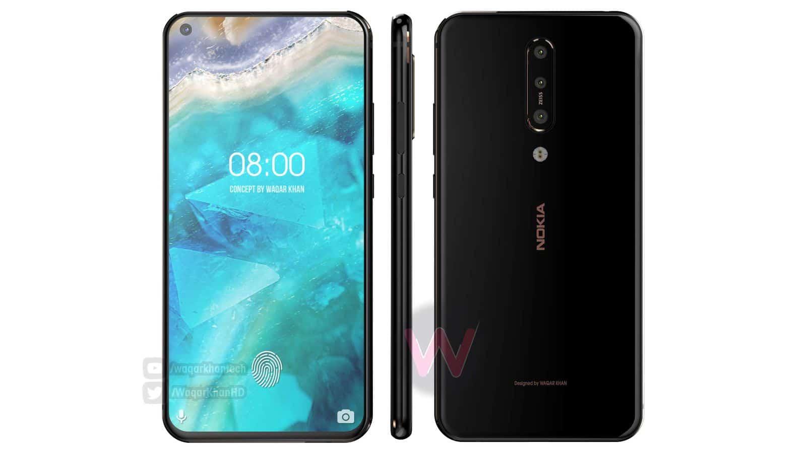 Nokia 8.1 Plus Waqar Khan concept 1