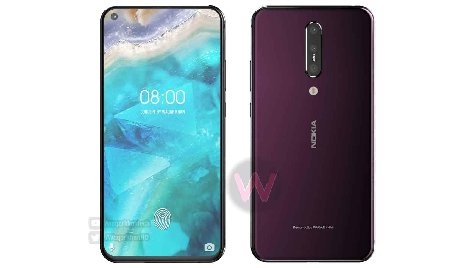Nokia 8.1 Plus Waqar Khan concept 3