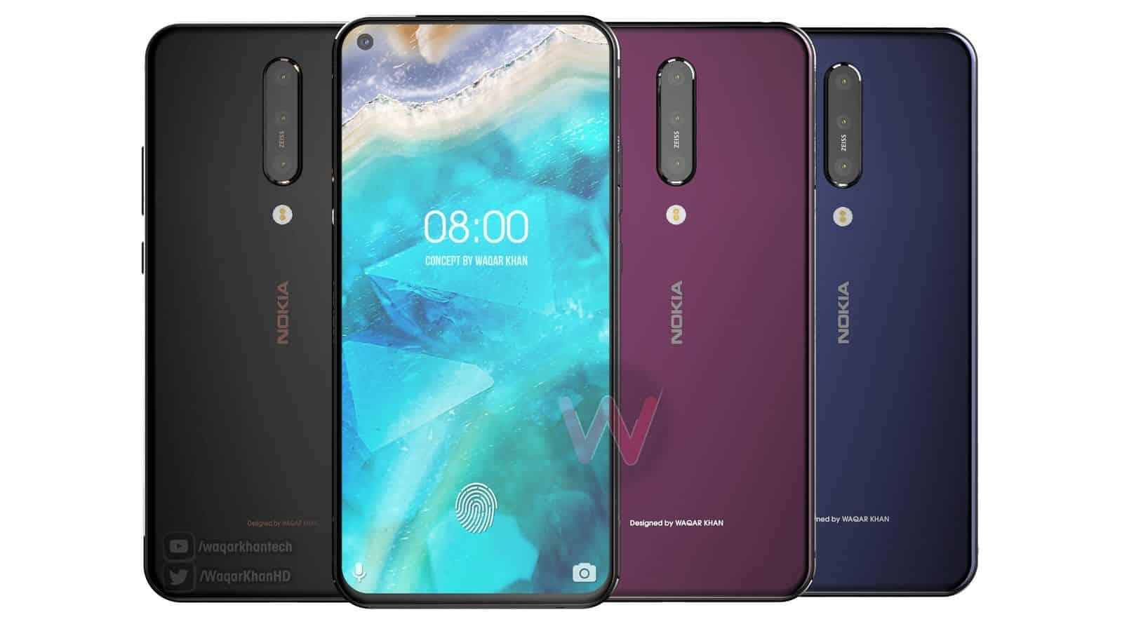 Nokia 8.1 Plus Waqar Khan concept 4
