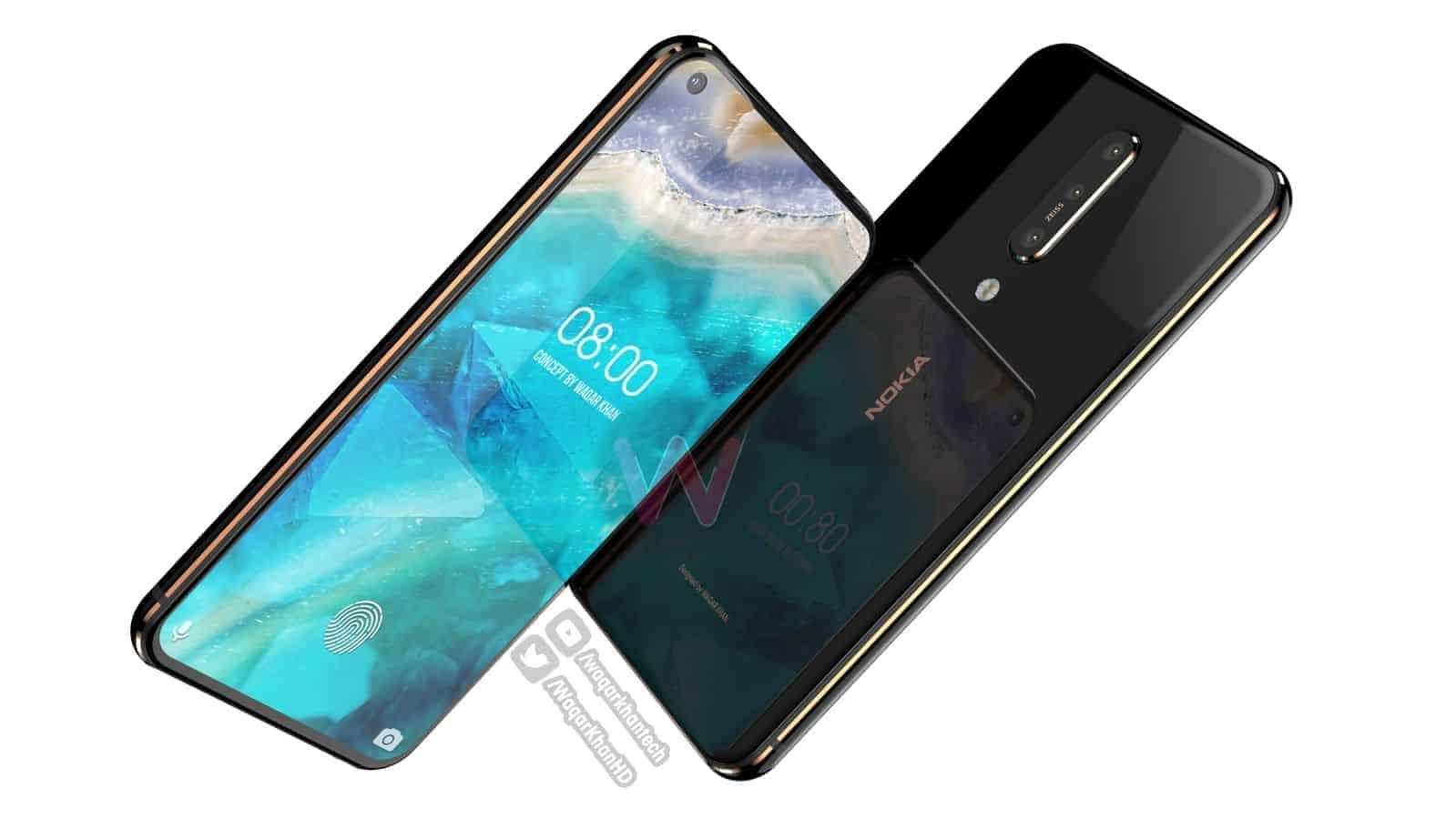 Nokia 8.1 Plus Waqar Khan concept 5