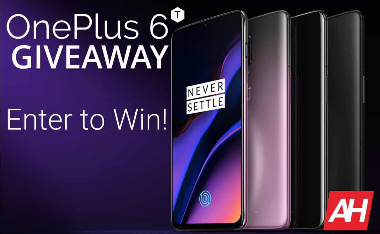 Oneplus 6T Giveaway Android Headlines