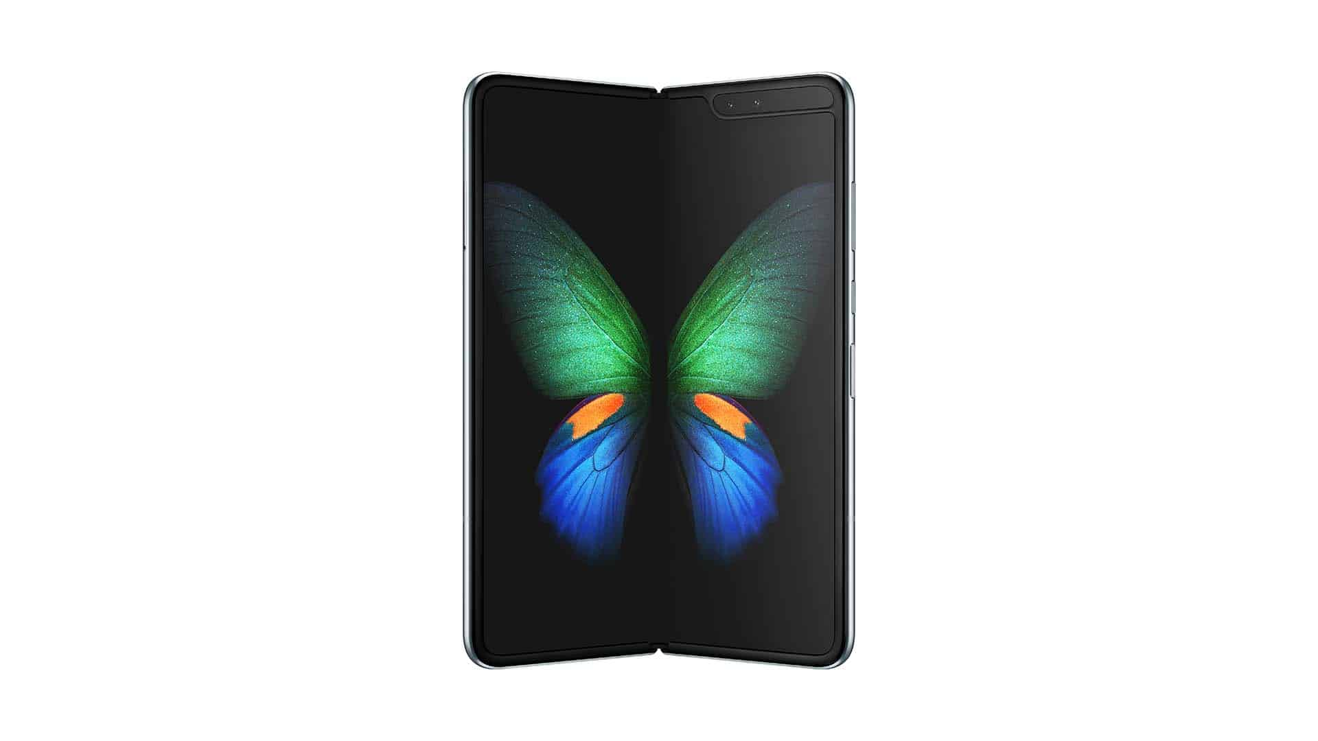 Samsung Galaxy Fold Official Render Downloaded April 22nd 2019
