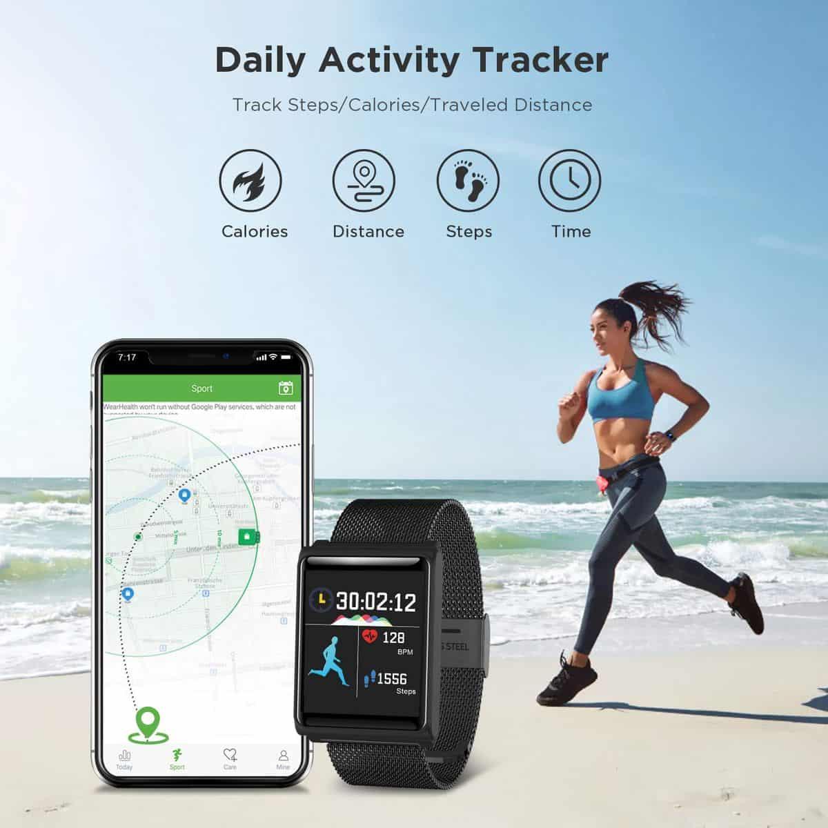 TECKEPIC fitness tracker 2