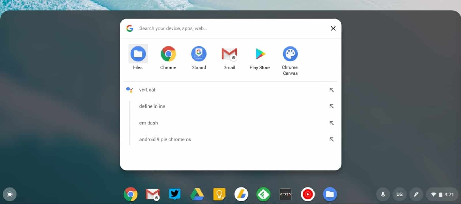 01 chrome os 74 search 5 from 9to5Google