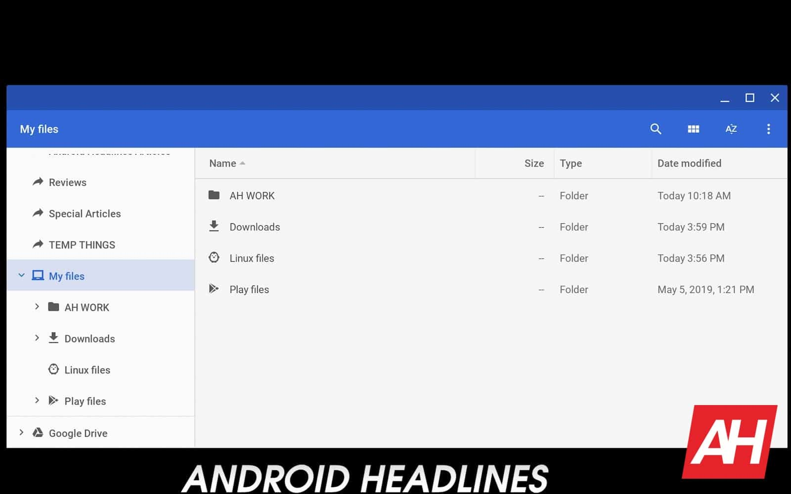 08 How to install Android Studio Chrome OS AH 2019