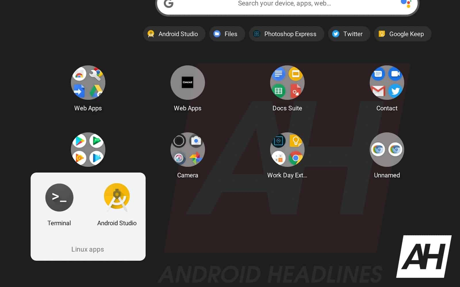 15 How to install Android Studio Chrome OS AH 2019