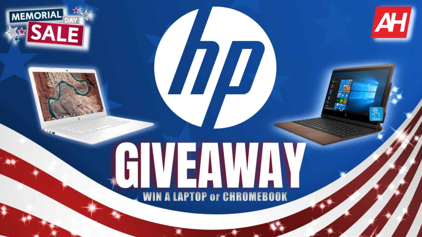 AH and HP Chromebook and Laptop Giveaway 2