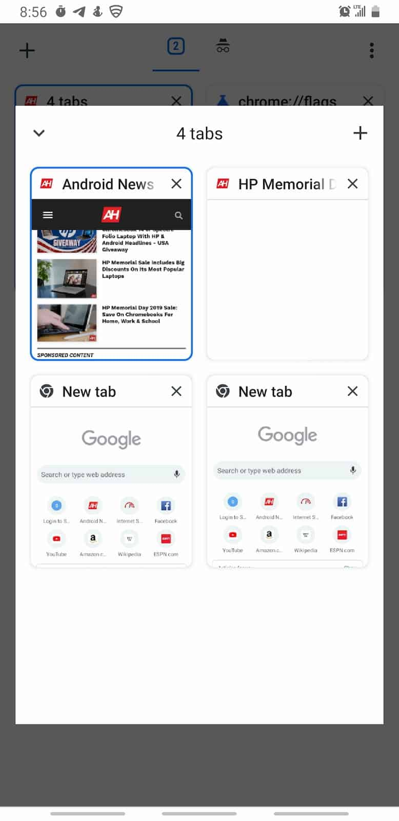 Chrome Android Group Tabs Screenshot Stable 04