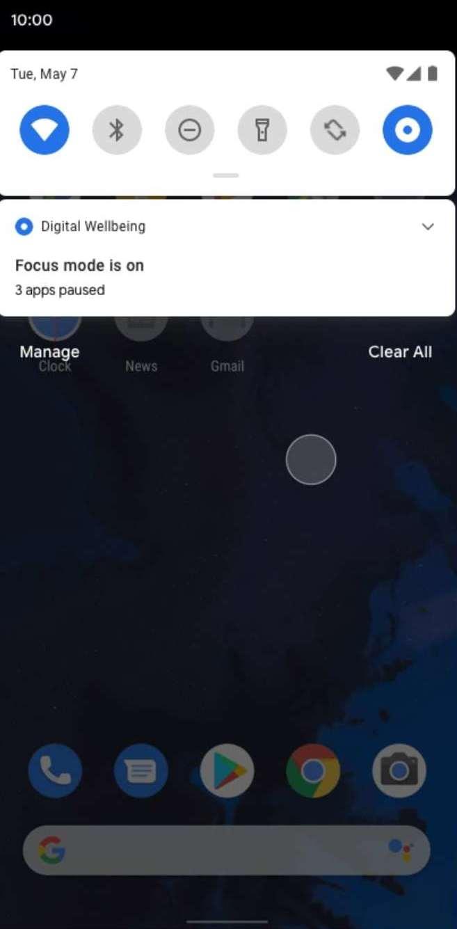 Digital Wellbeing Focus Mode 03