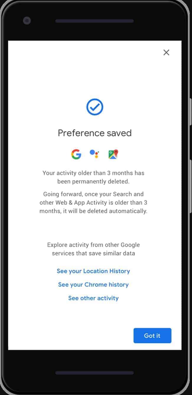 Google Auto Delete History from press gif 04