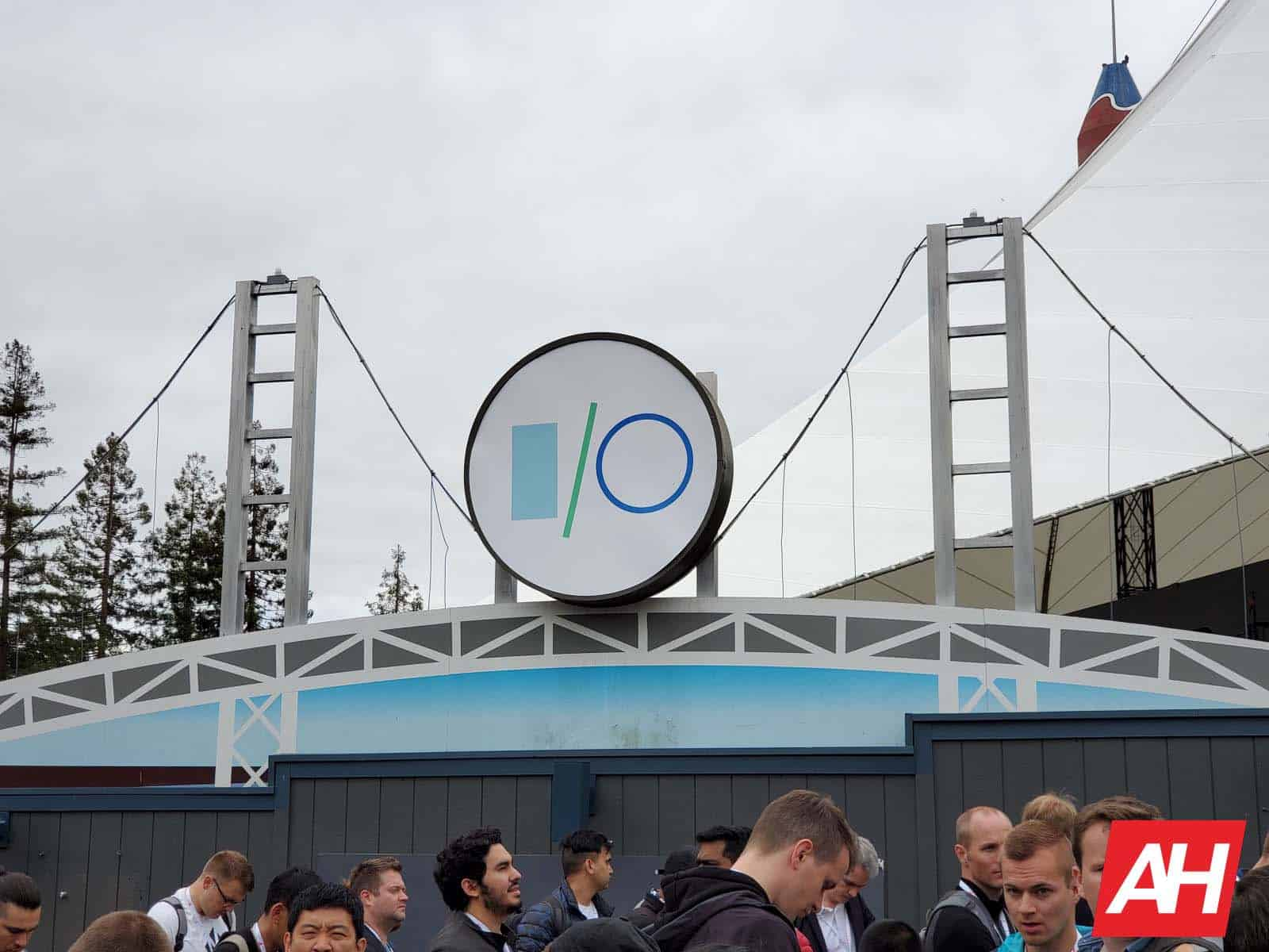 Google IO 2019 Sign AH 10