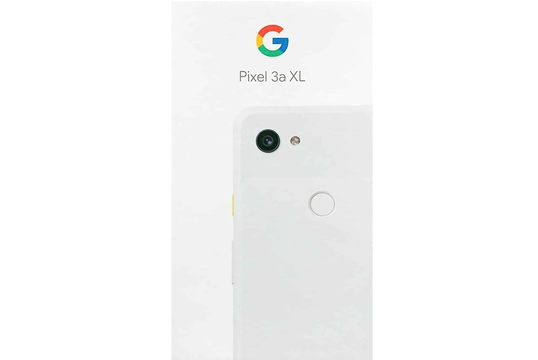 Google Pixel 3a XL Packaging 05012019
