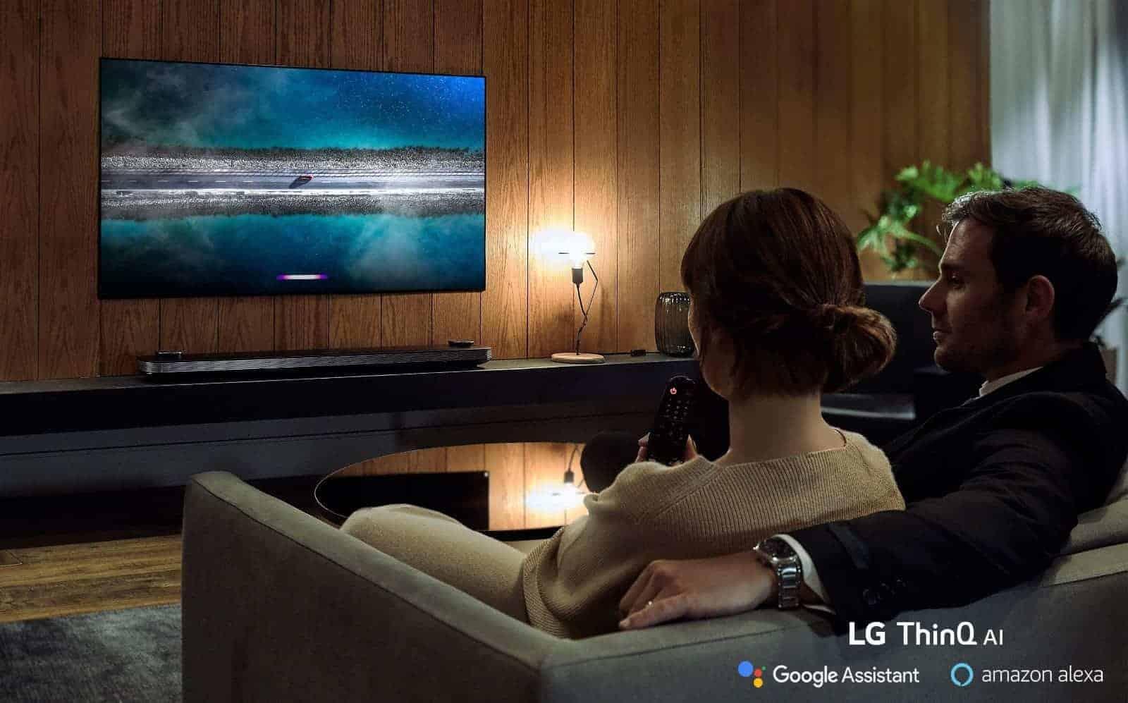 LG TV Amazon Alexa 02 presser