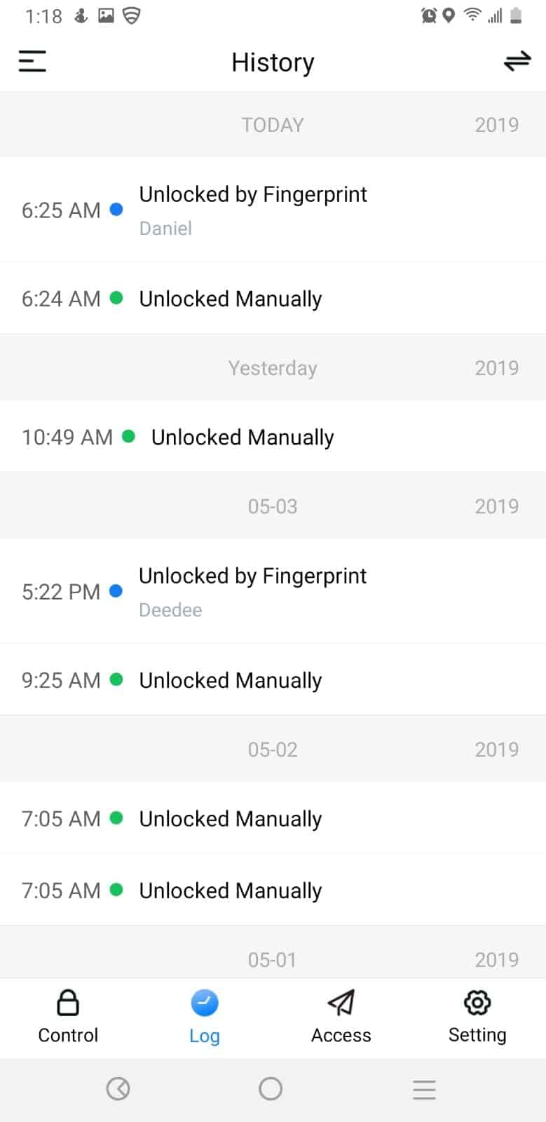 Lockly App Screenshots 03