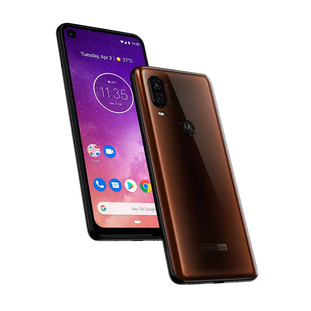 Motorola One Vision render leak 96