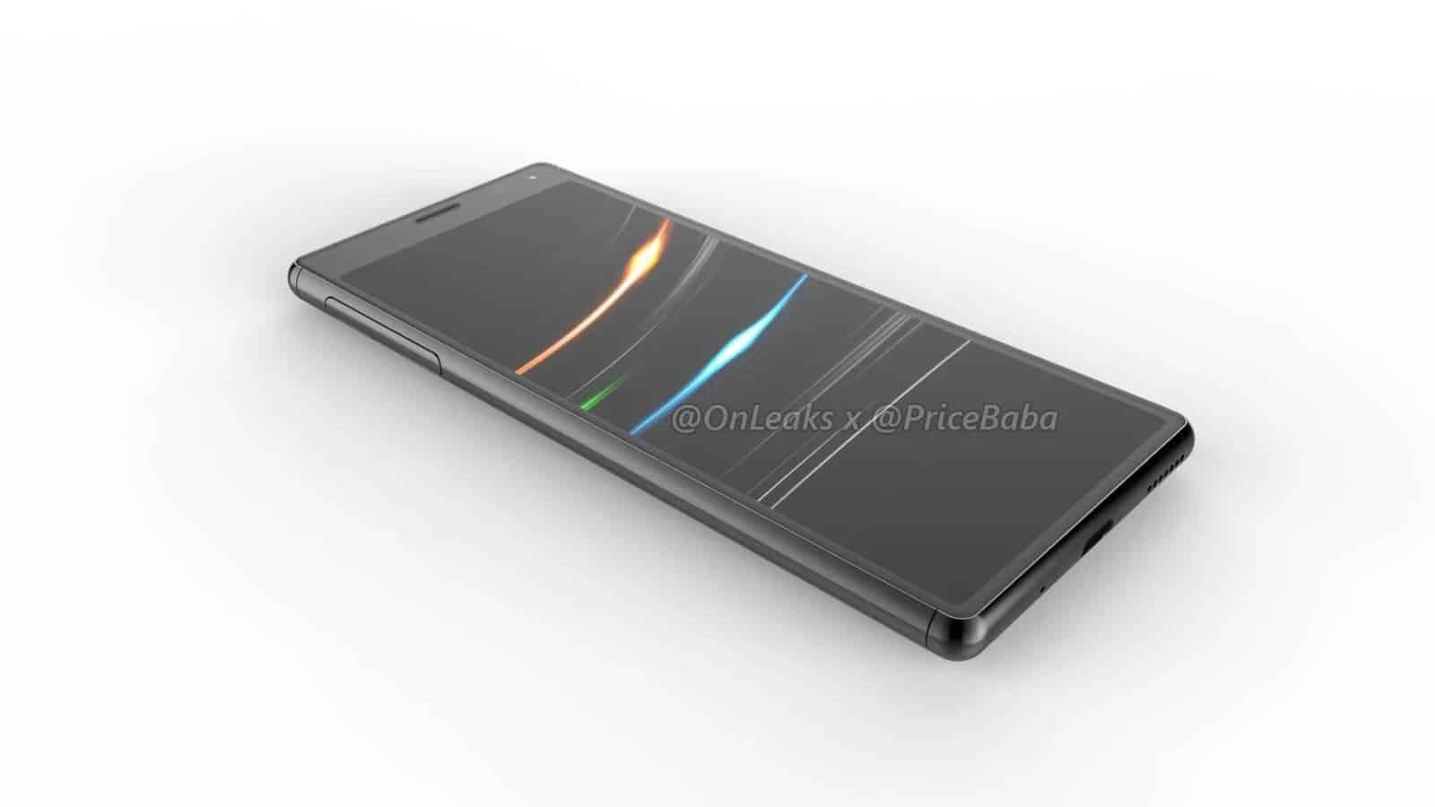 Sony Xperia 20 render leak 10