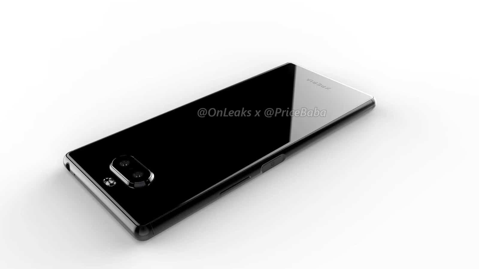 Sony Xperia 20 render leak 11
