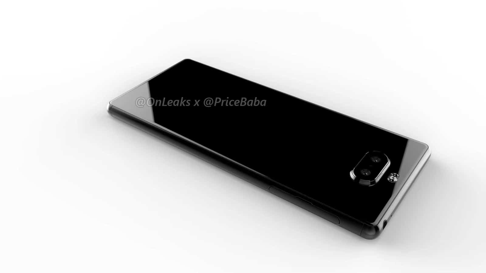 Sony Xperia 20 render leak 12
