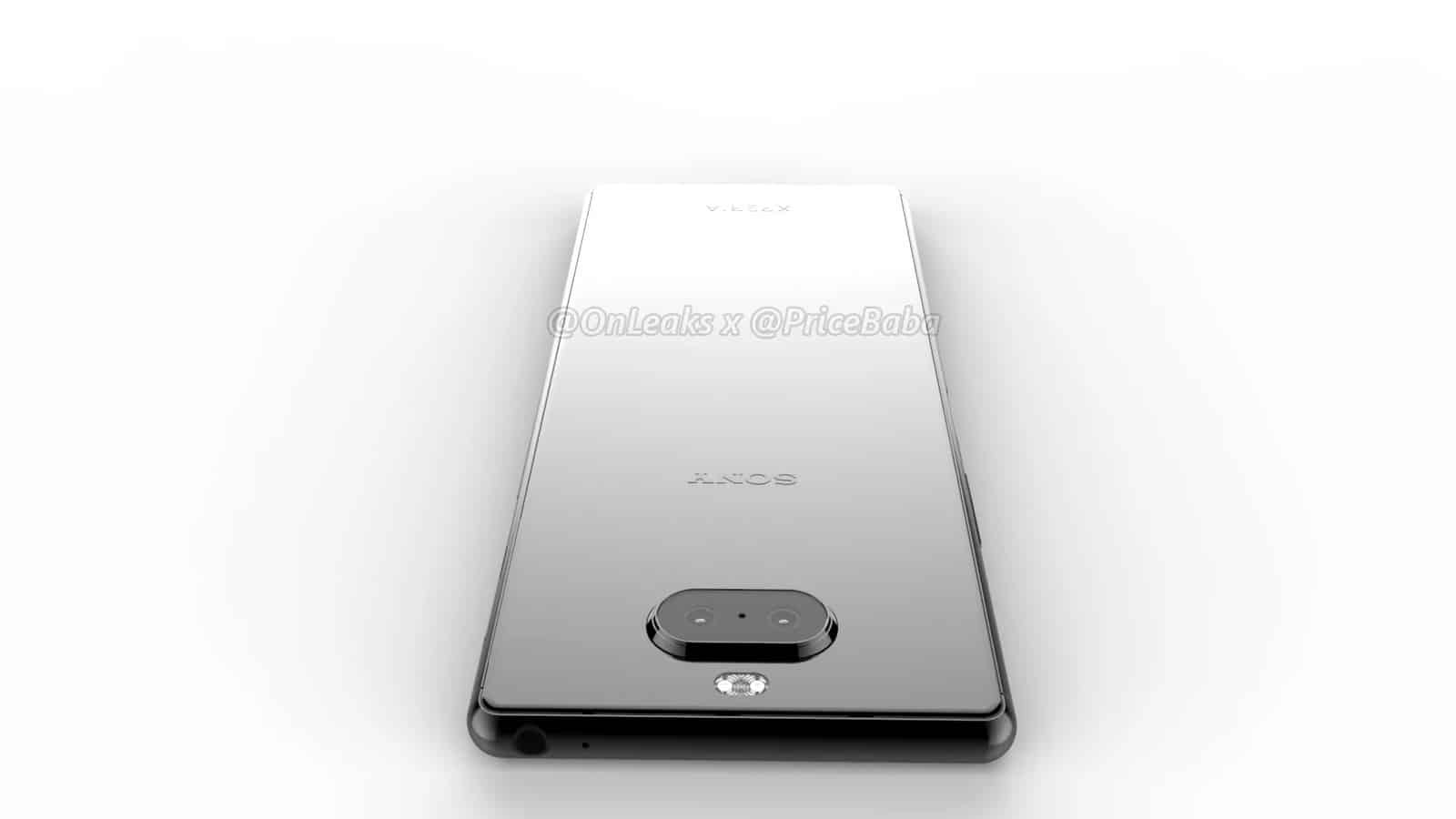 Sony Xperia 20 render leak 13