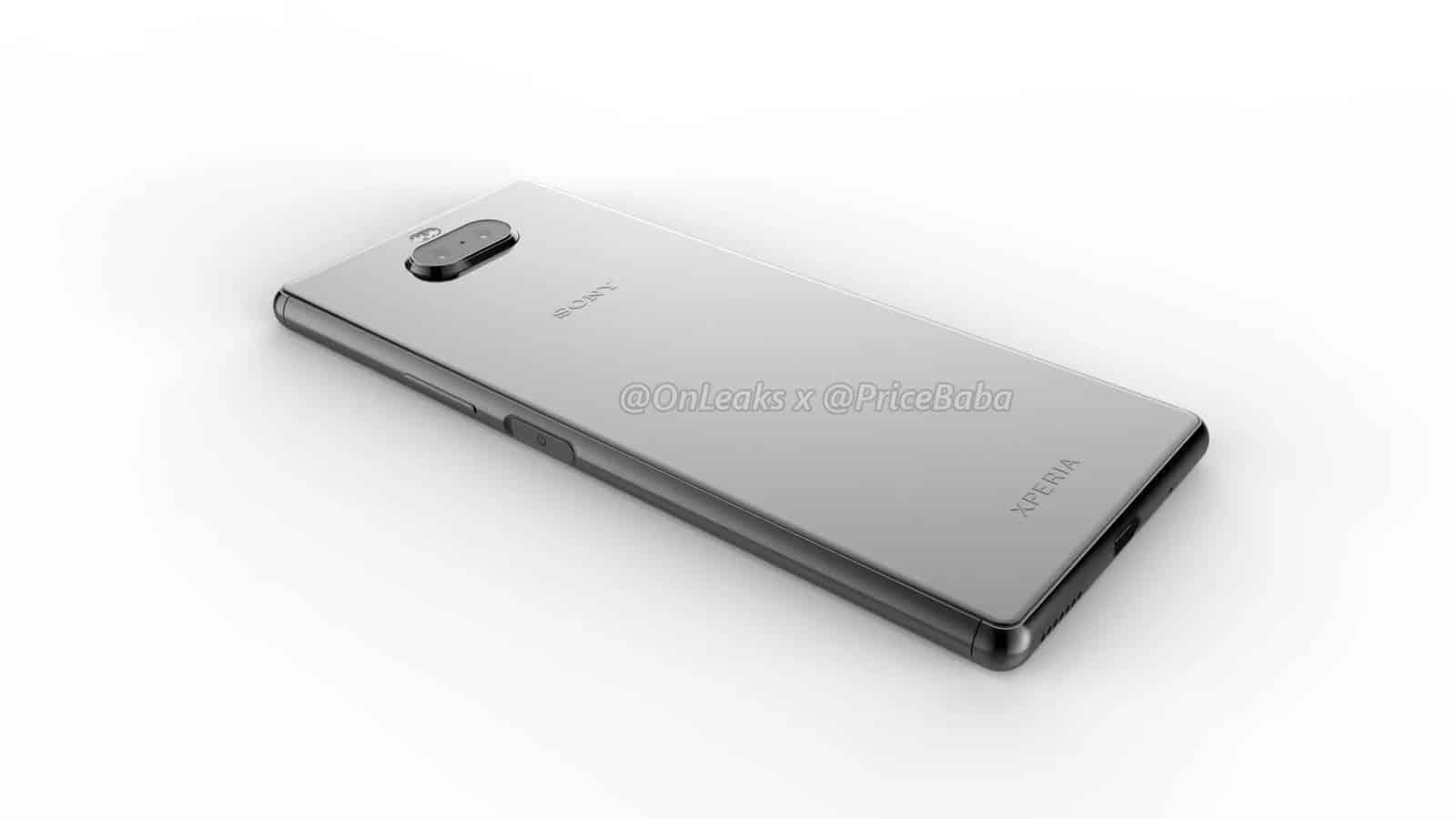 Sony Xperia 20 render leak 16