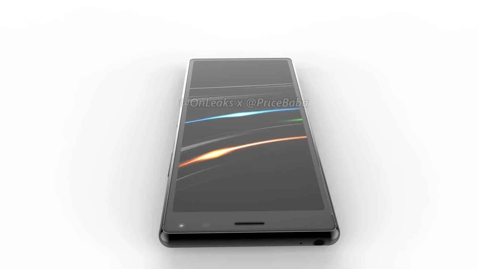 Sony Xperia 20 render leak 7