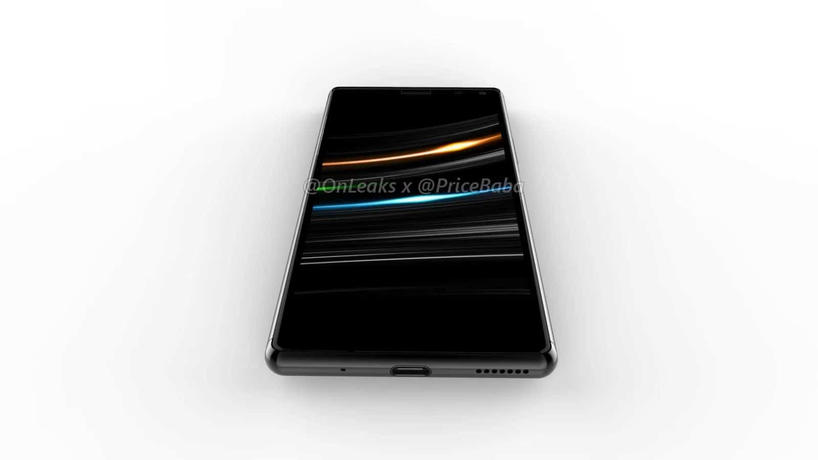 Sony Xperia 20 render leak 8