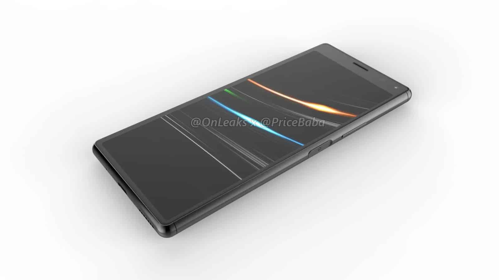 Sony Xperia 20 render leak 9