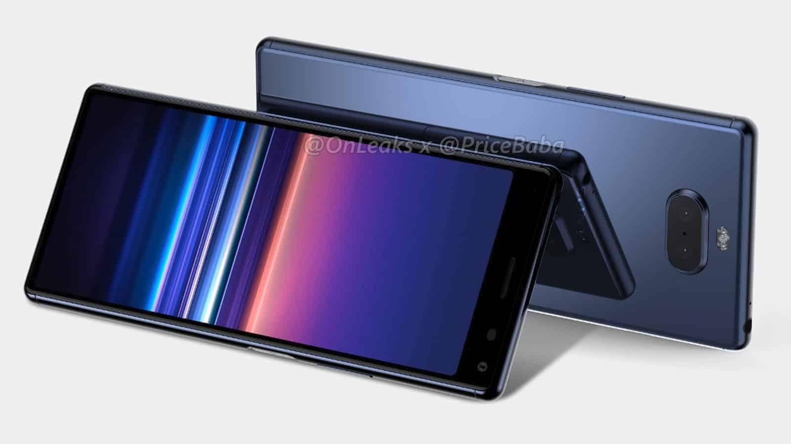 Sony Xperia 20 render leak featured