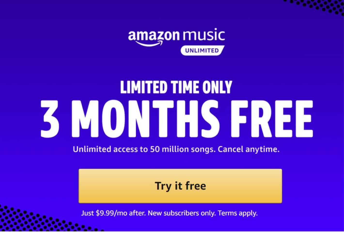 Amazon Free Unlimited