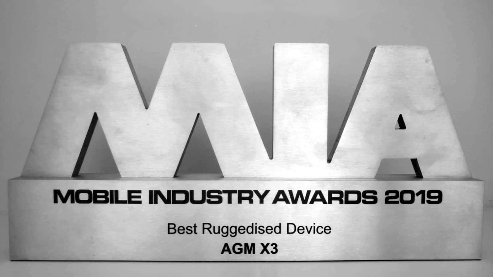 AGM X3 award