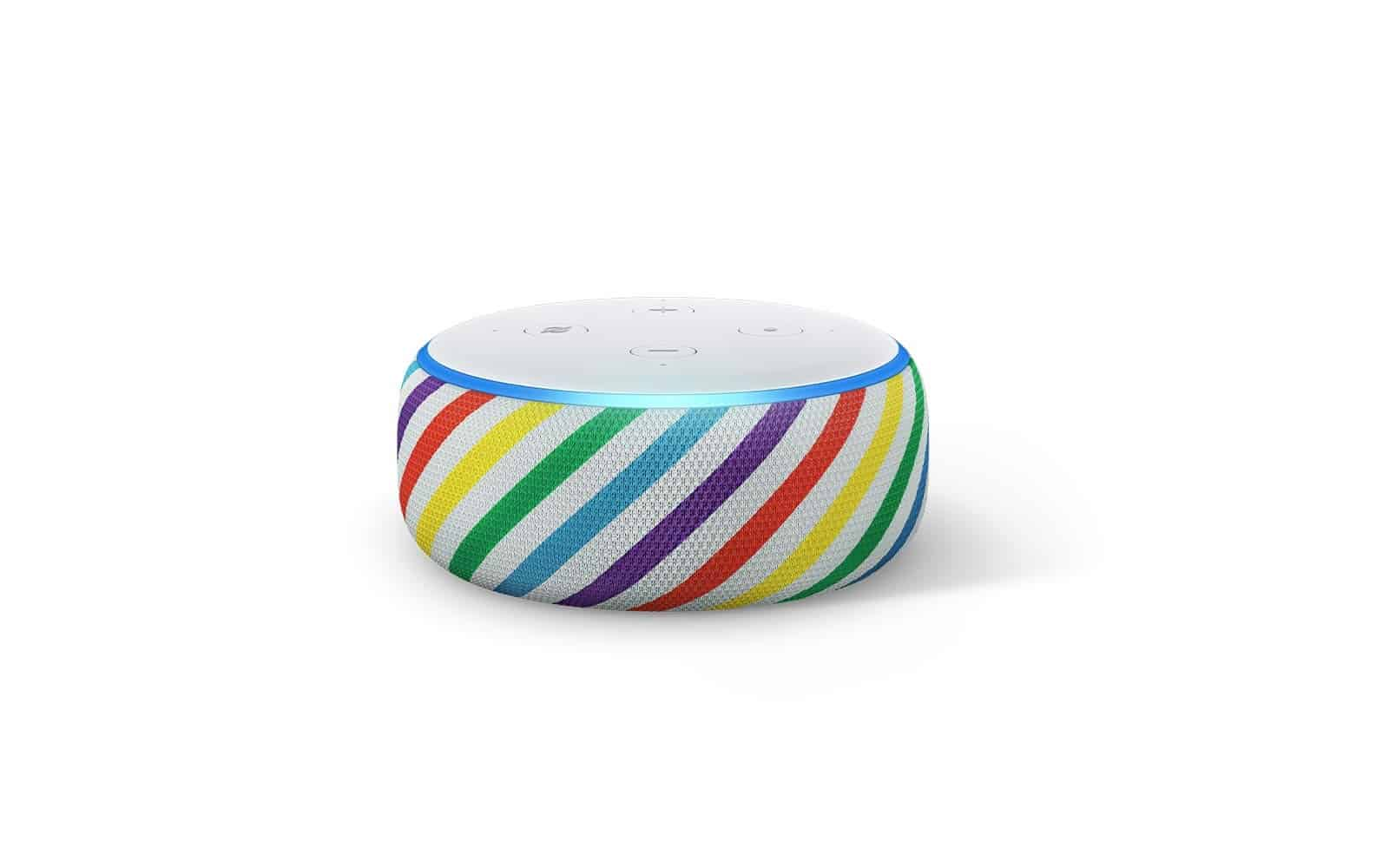 Amazon Echo Dot Kids Edition 2019 Rainbow