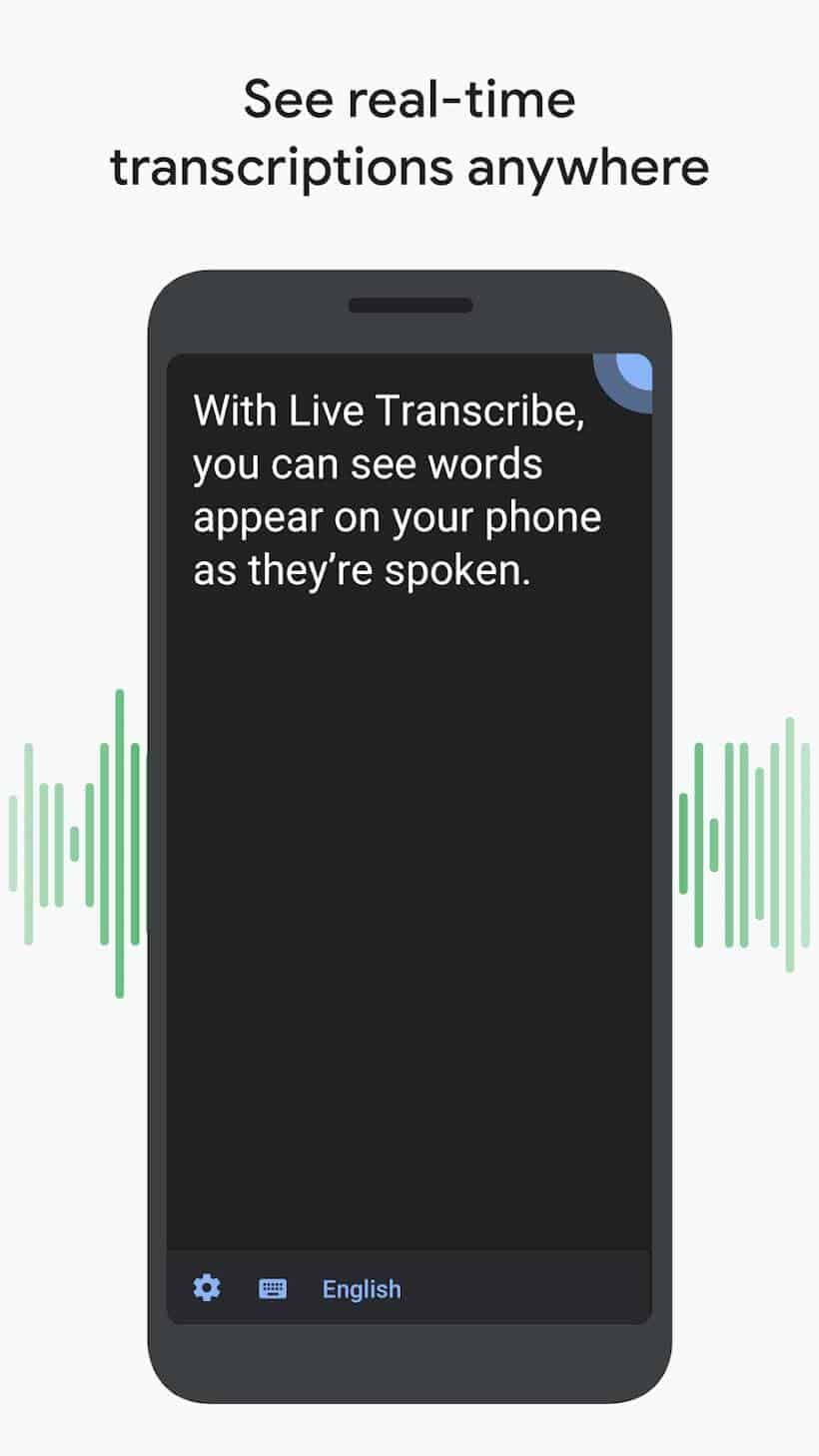 Live Transcribe Play Screenshot 01