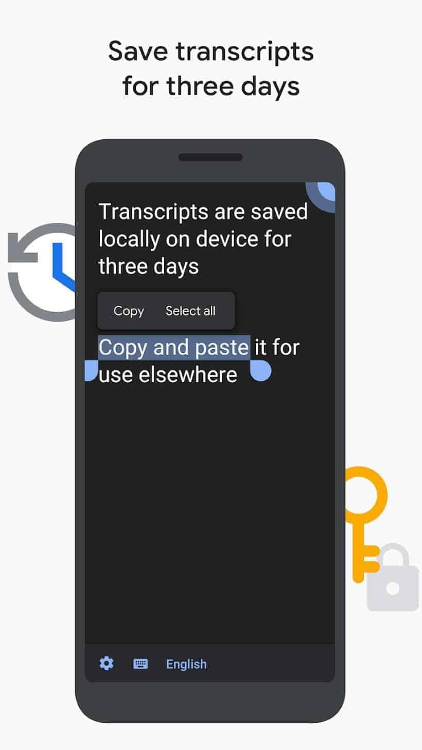 Live Transcribe Play Screenshot 06