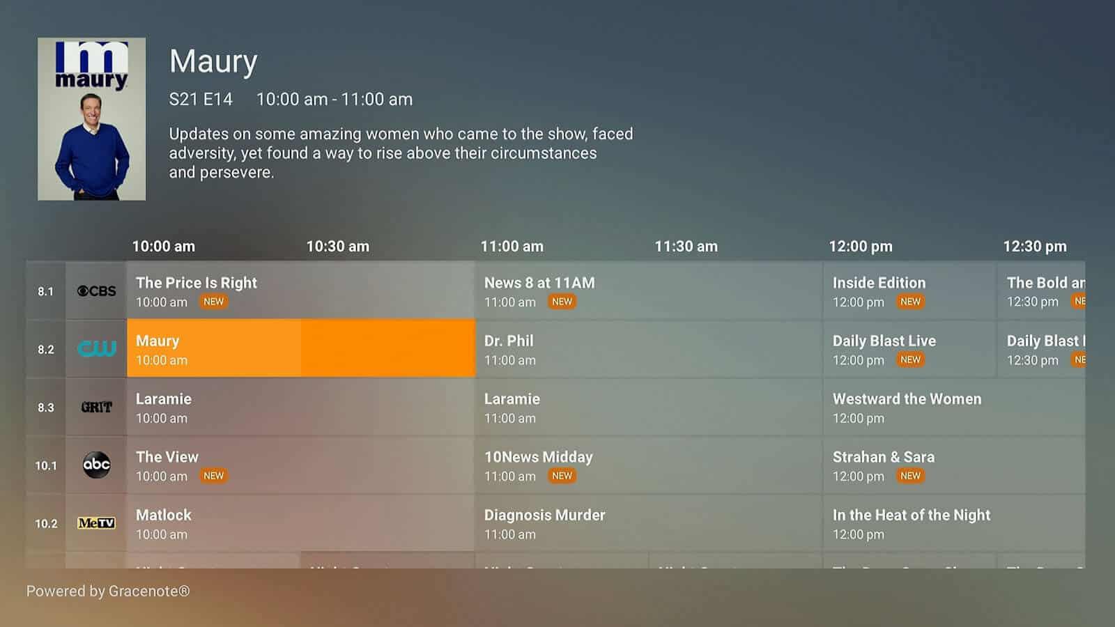 Plex Live TV Android TV 20
