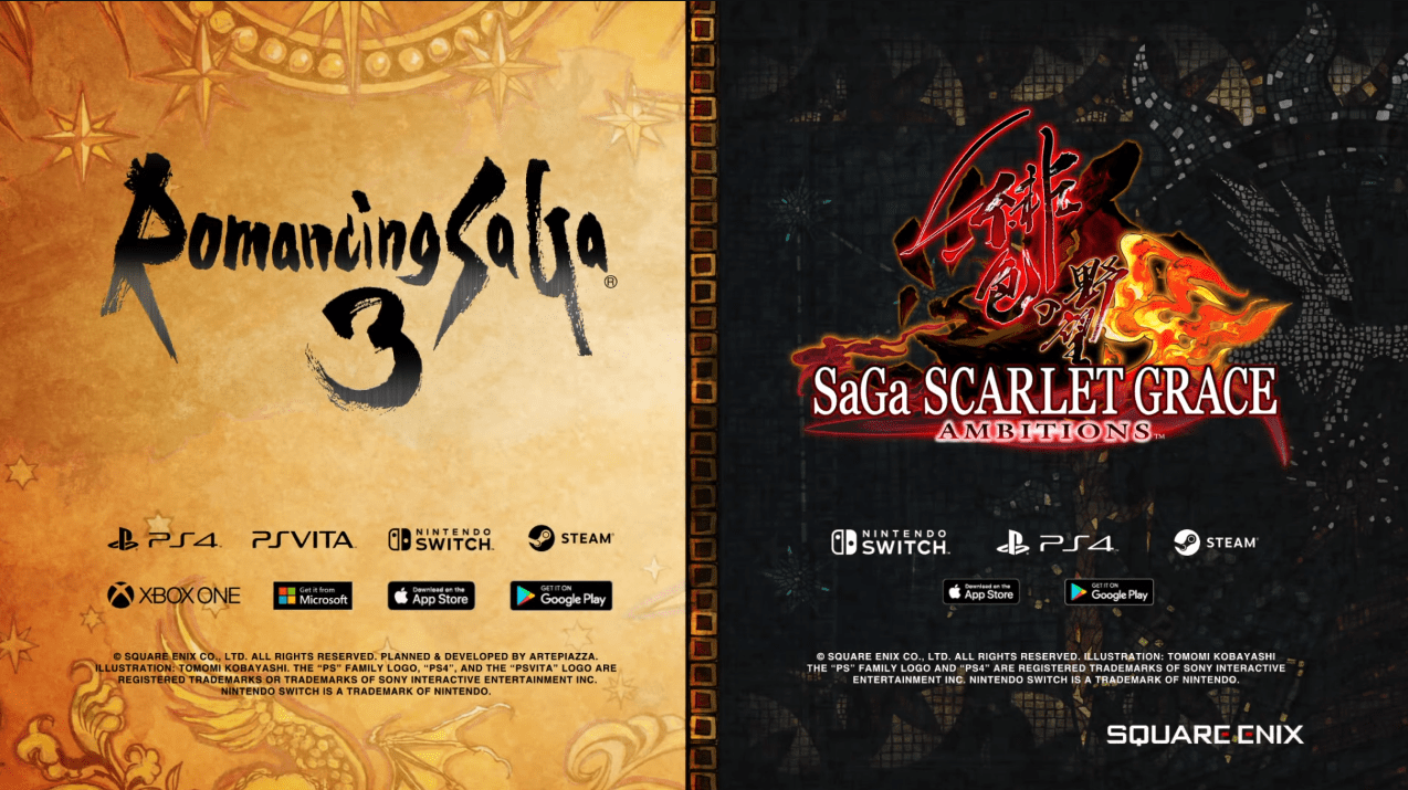 Romancing SaGa 3 SaGa Scarlet Grace