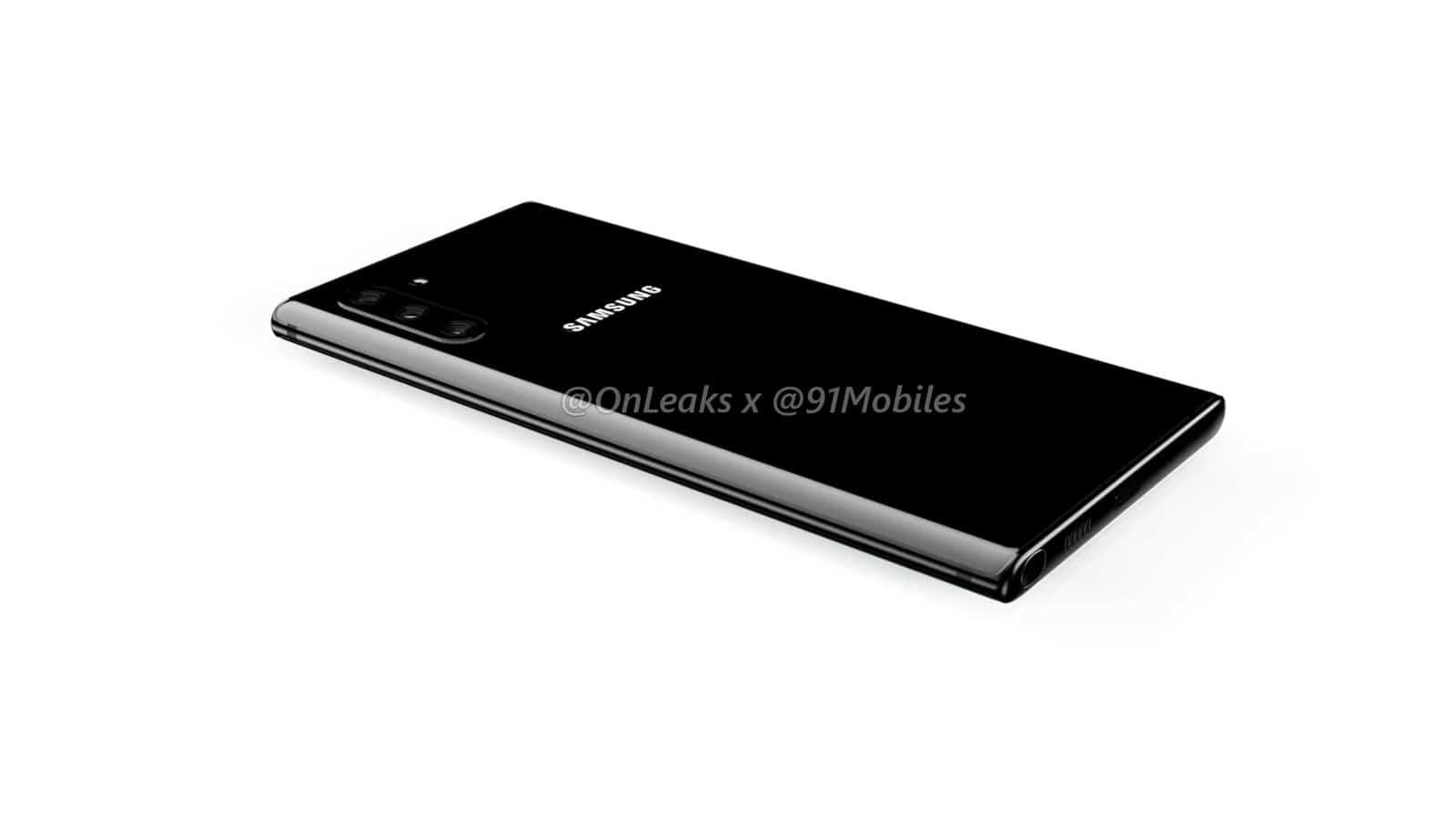 Samsung Galaxy Note10 renders leak 10