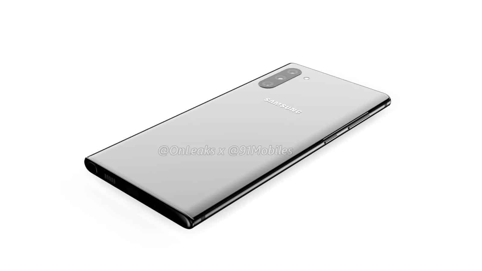 Samsung Galaxy Note10 renders leak 12