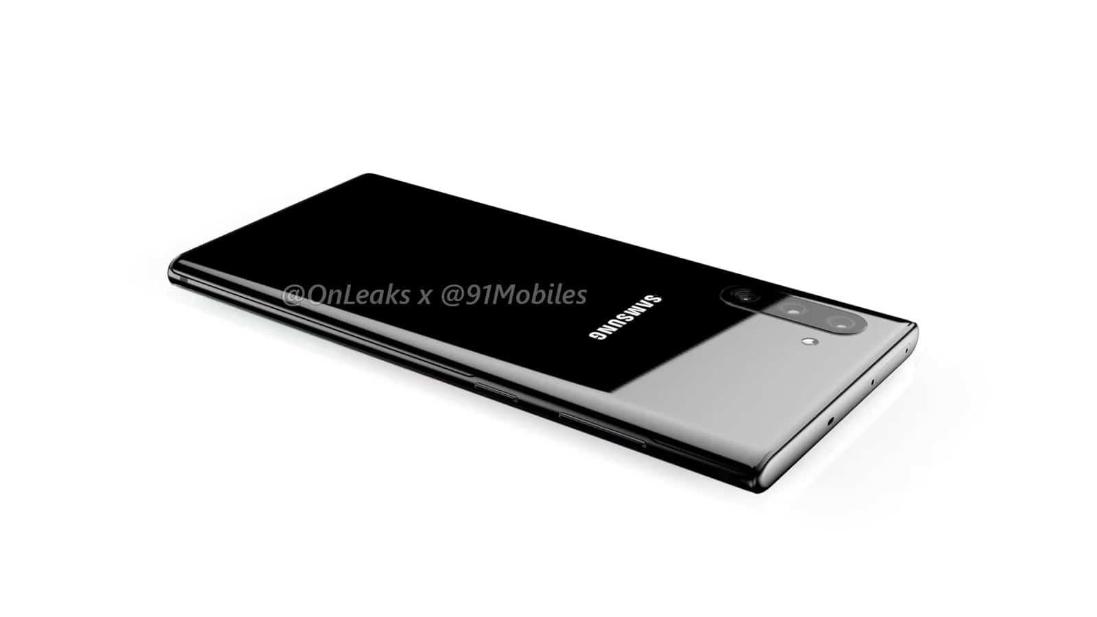 Samsung Galaxy Note10 renders leak 13