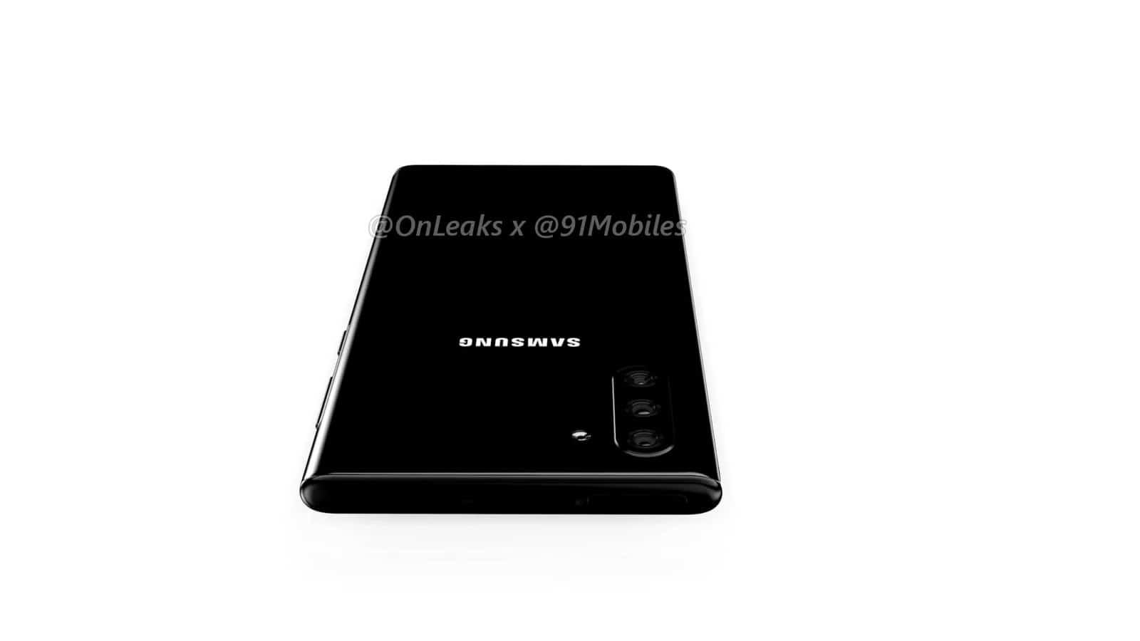 Samsung Galaxy Note10 renders leak 14