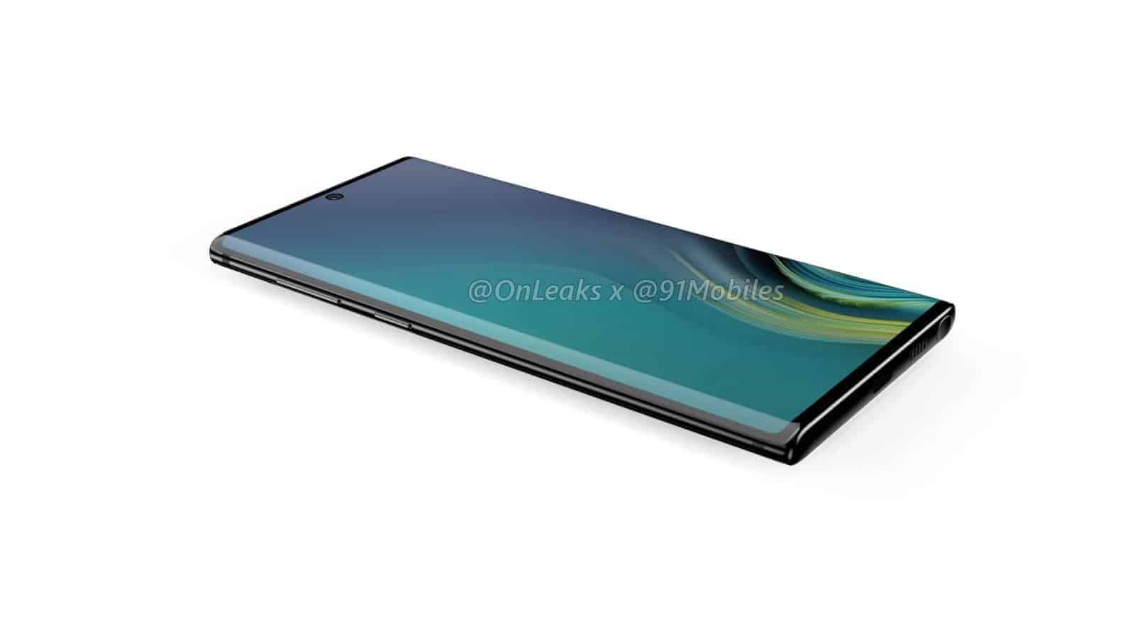 Samsung Galaxy Note10 renders leak 4