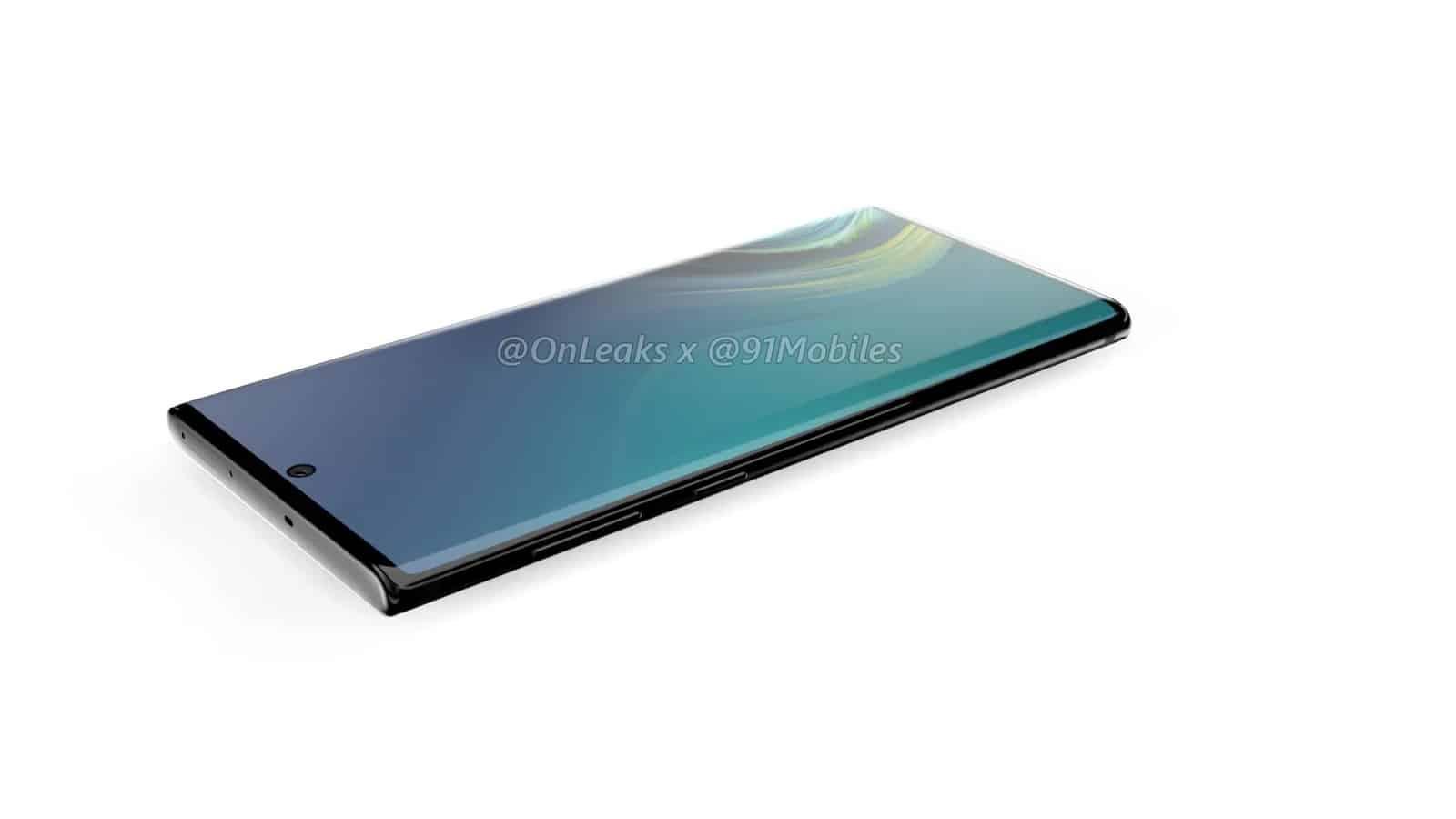 Samsung Galaxy Note10 renders leak 7