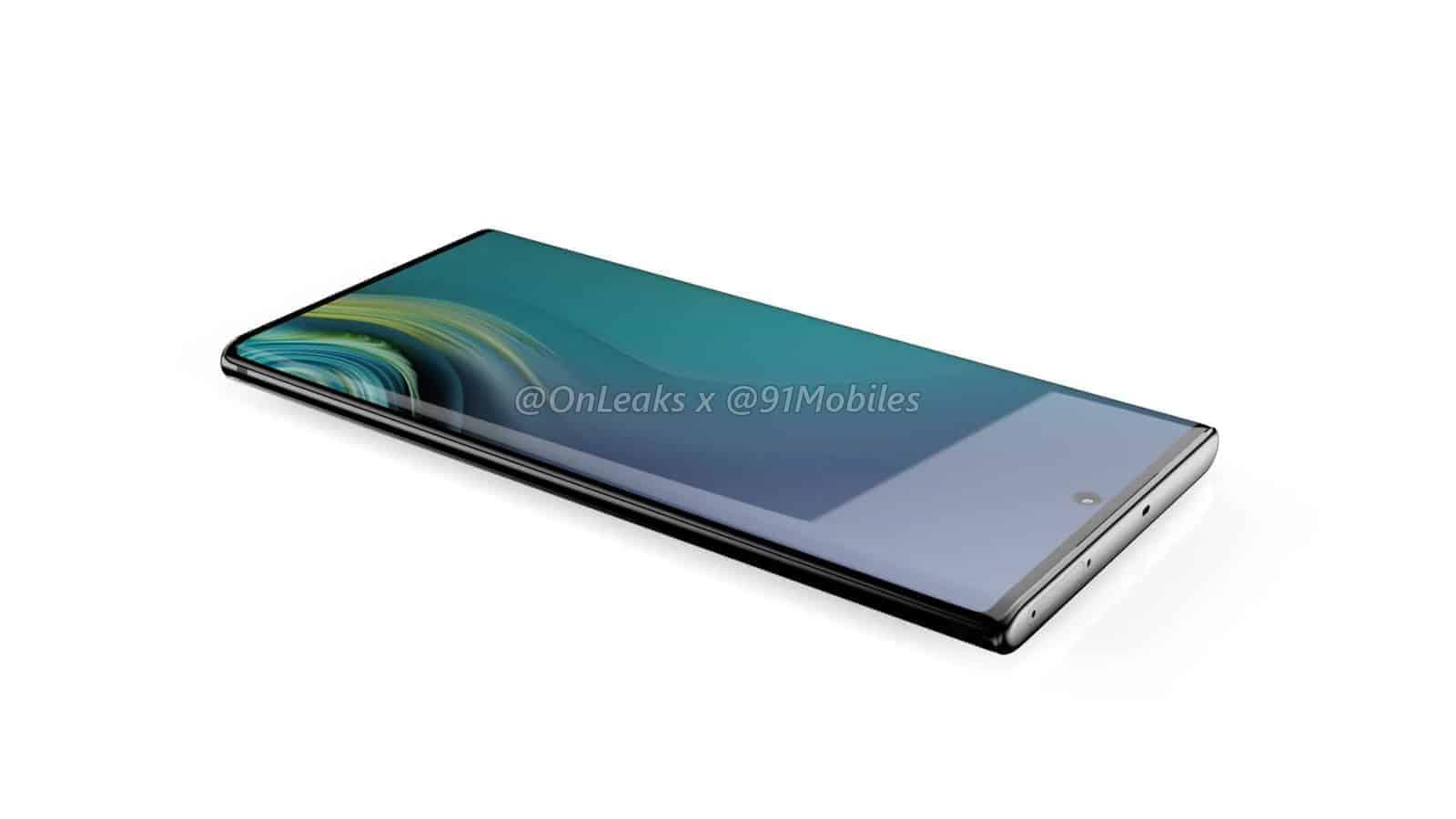 Samsung Galaxy Note10 renders leak 8