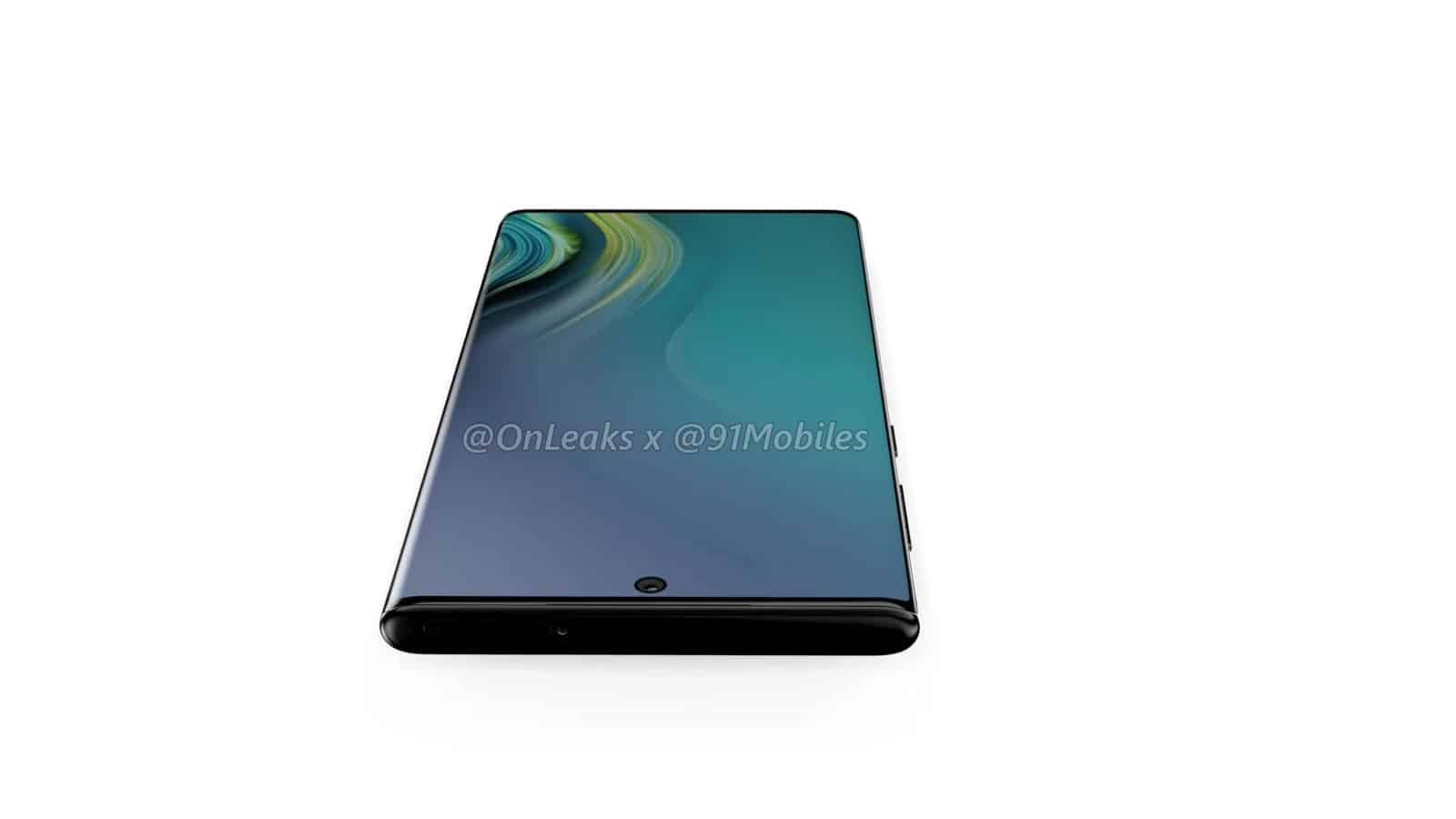 Samsung Galaxy Note10 renders leak 9