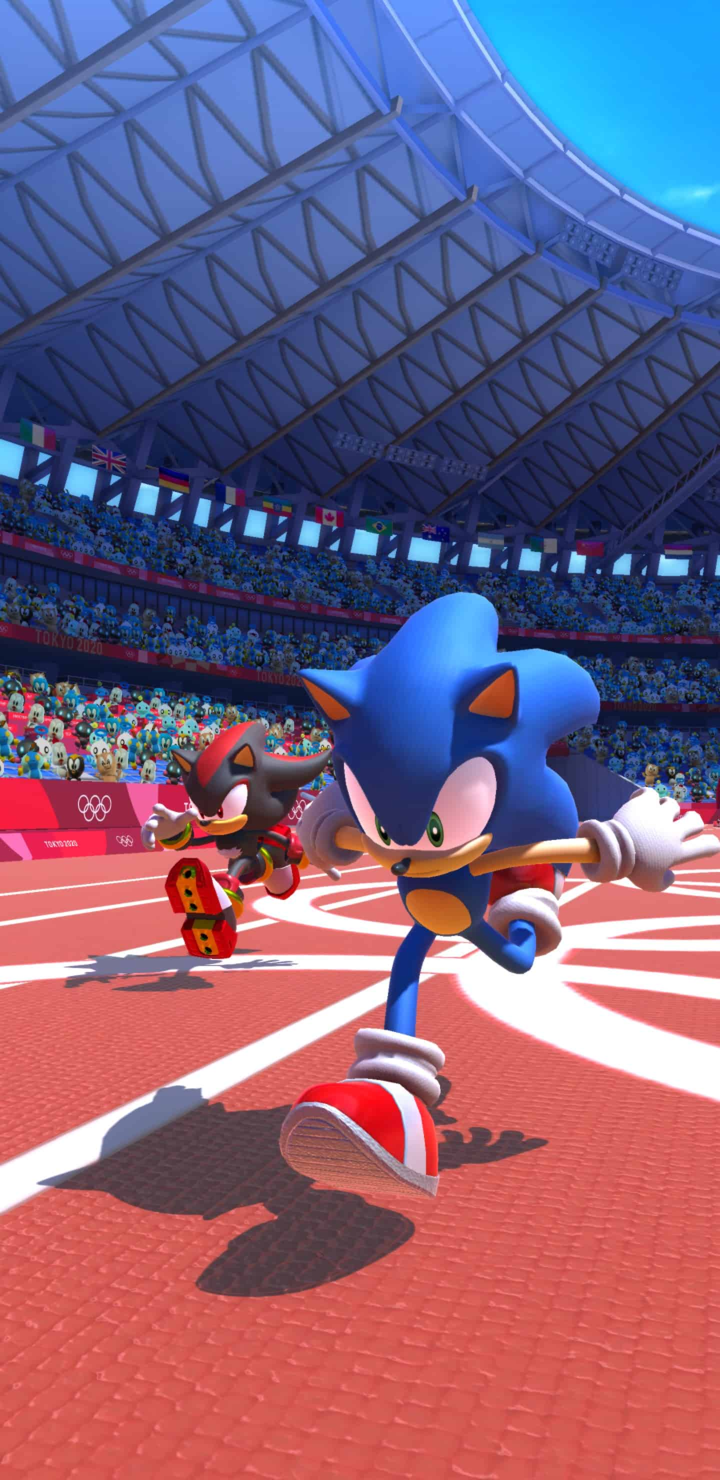 Sonic at the Olympic Games Sonic