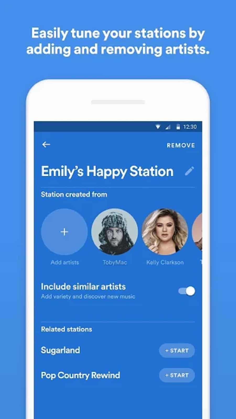 Spotify Stations App US 5