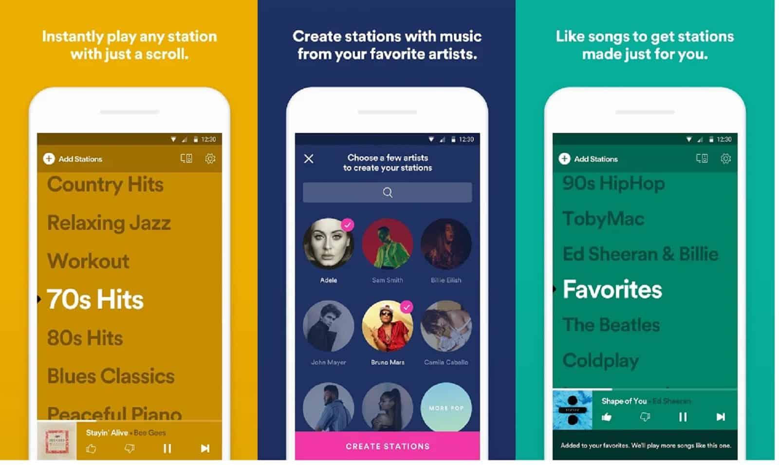 Spotify Stations App US 6