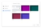 google chrome 77 customization themes from TechDows