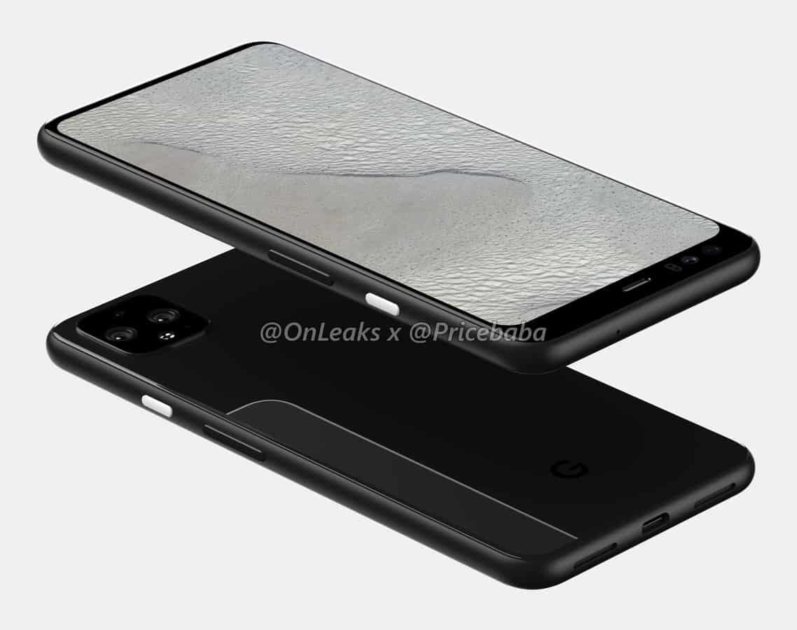 Google Pixel 4 XL render leak July 2019 1